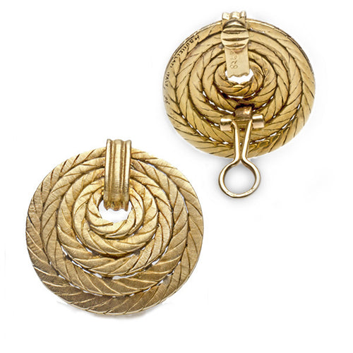 Buccellati Rope Earrings