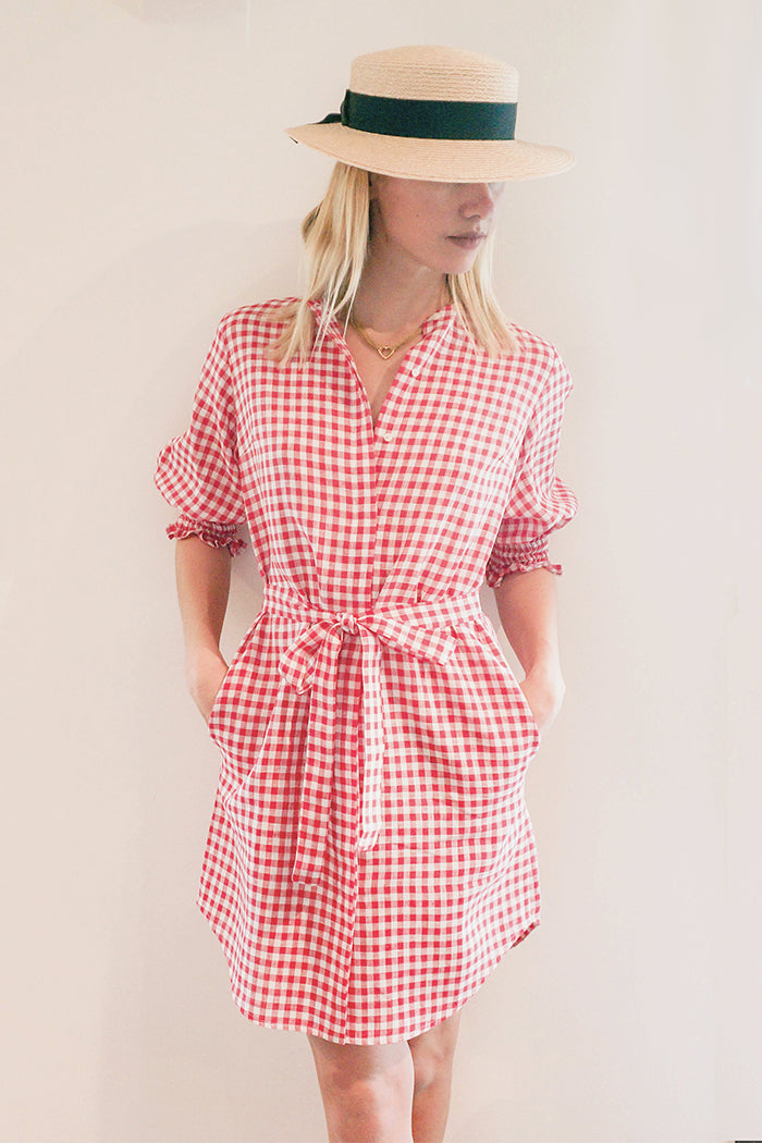Sahara Checkered Dress