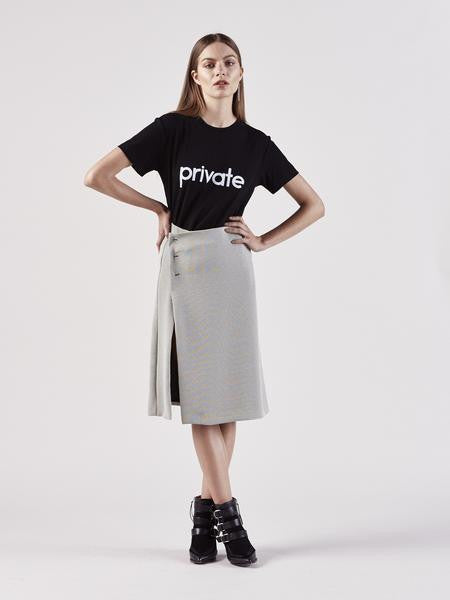 Private Black Tee