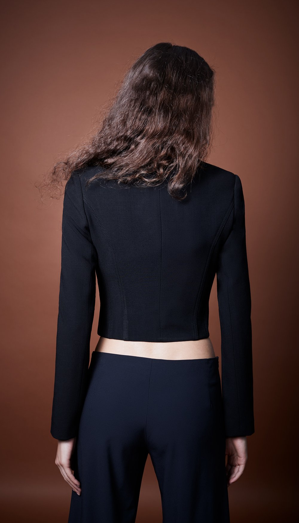 Courtesan Blazer-Black