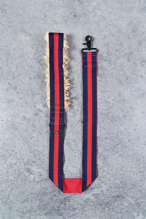 The City Leash-Red/Navy