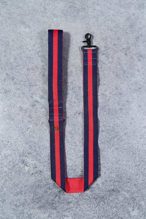 The City Leash Padded-Navy/Red