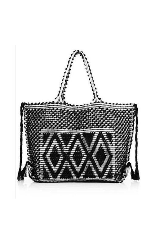 Capriccioli Tote - Black & Cream