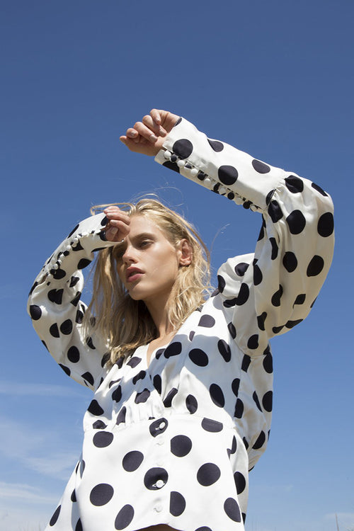 Mie Blouse-Dots