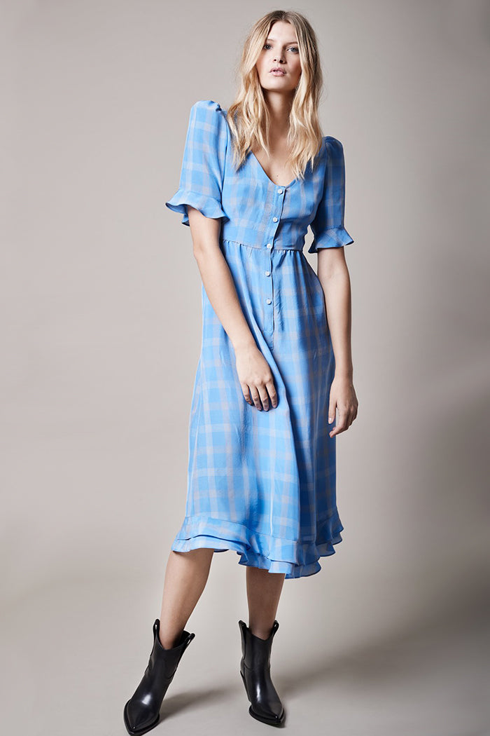 Frontier Checker Dress