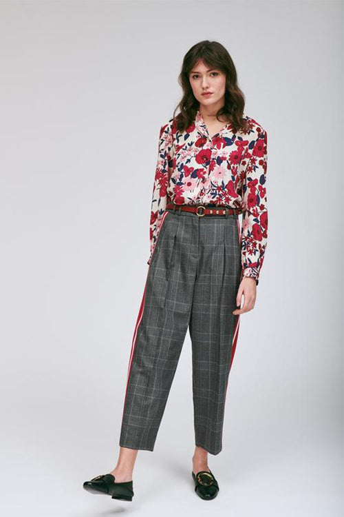 Heather Plaid Pant
