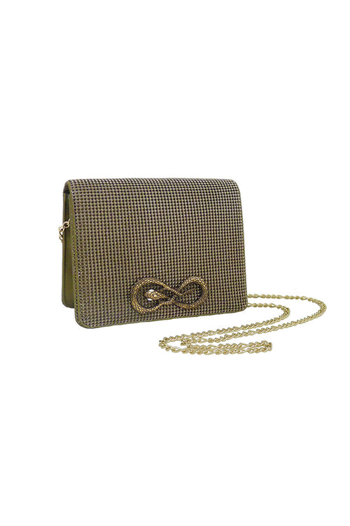Seville Serpent Crossbody-Antique Gold