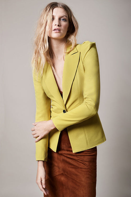 Box Pleat Blazer