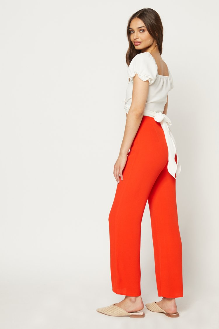 Parker Pant-Red Hot