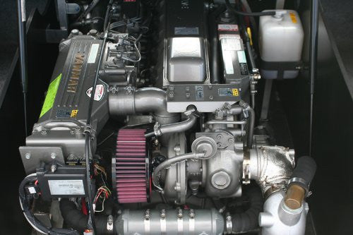 Yanmar Air Cleaner Assembly : High air performance filter for yanmar lp part