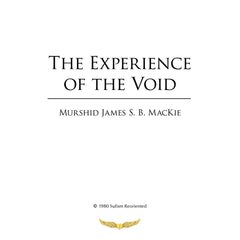 13. The Experience of The Void