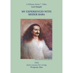 My Experiences with Meher Baba: Lud Dimpfl