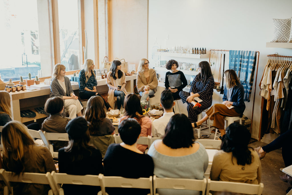 The Glossary Creative Women Panel