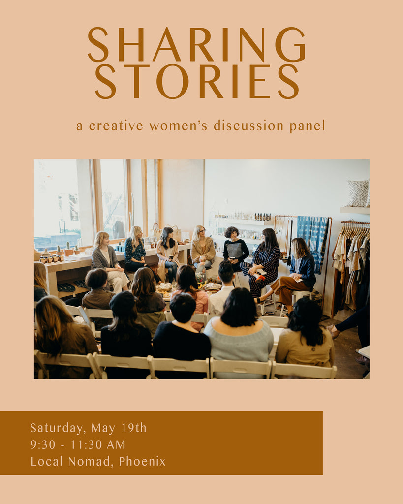 Sharing Stories Pt. 2 Creative Women's Panel with The Glossary Co.