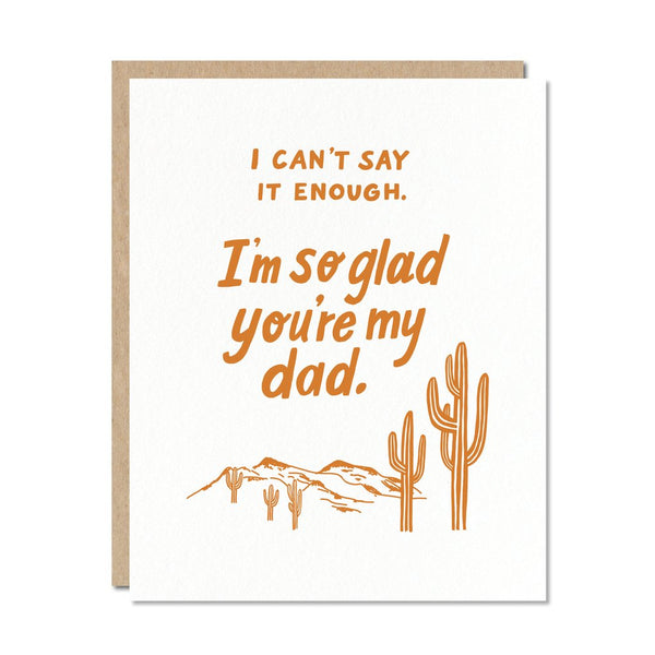 So Glad You're My Dad Card