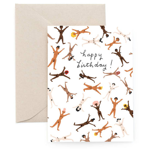 Au Naturel Birthday Card