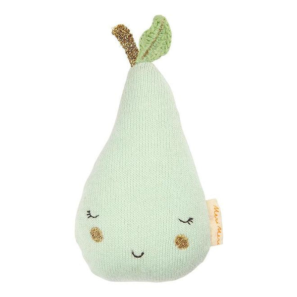 Pear Baby Rattle