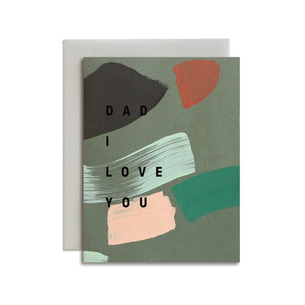 Dad I Love You Card