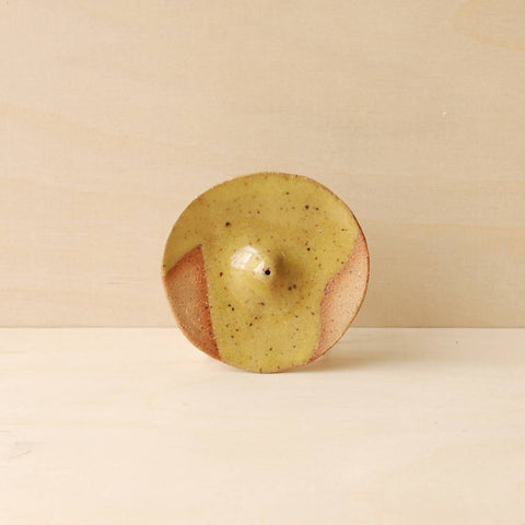 Geo Incense Holder - Yellow