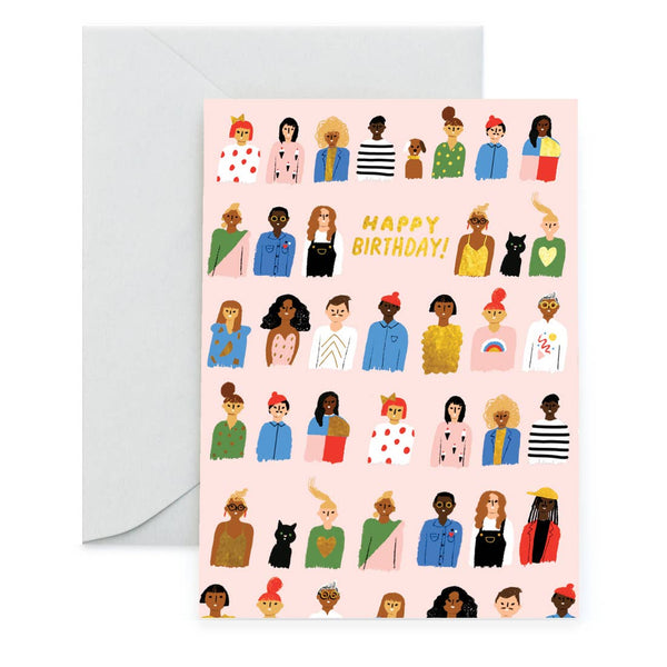 Friends are Family Birthday Card