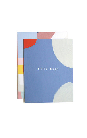 Baby Hello Card