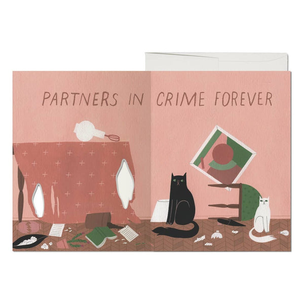Cat Crimes Card