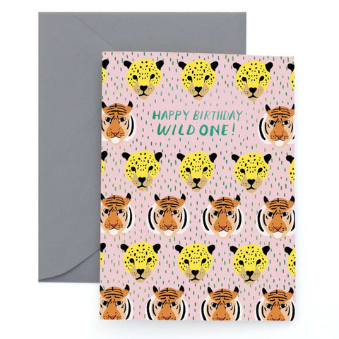 Wild One Birthday Card