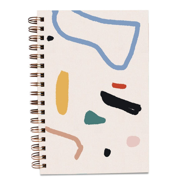 Painted Notebook - Ray