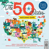 The 50 States Matching Game