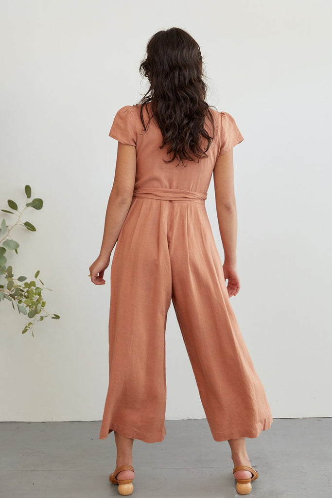 SUGAR CANDY MOUNTAIN Angela Jumpsuit - Clay