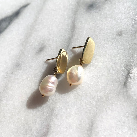 Pearl Siren Earrings