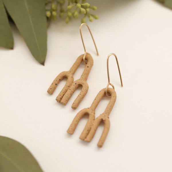 Symbol Earrings - Cloud