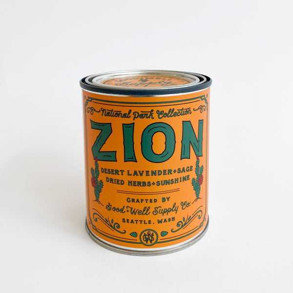 Zion National Park Candle - 14 oz.