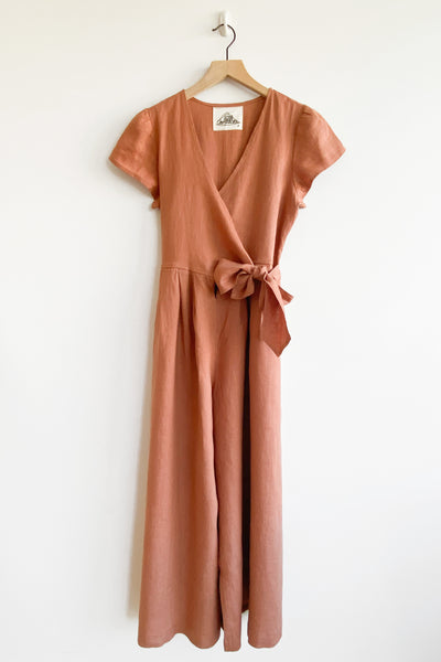 Angela Jumpsuit - Clay