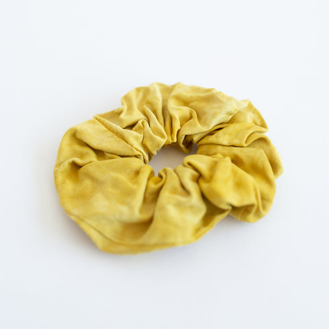 Silk Scrunchie - Golden