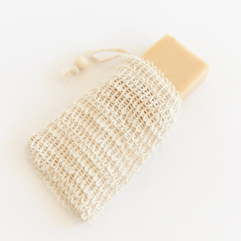 Agave Exfoliating Soap Pouch