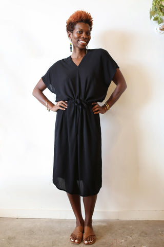 Long Kaftan - Black