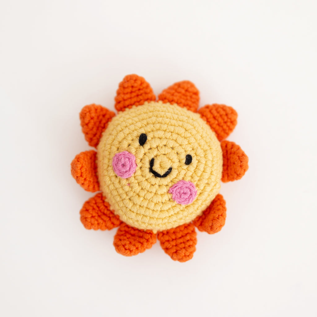 PEBBLE Friendly Sun Rattle