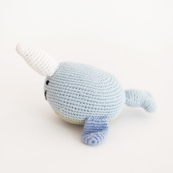 Narwhal Rattle