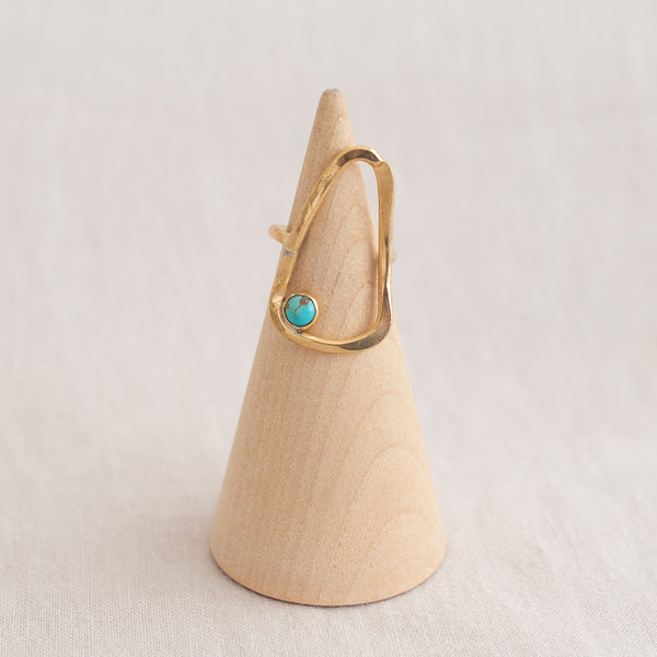 Primitive Ring - Turquoise Arrow