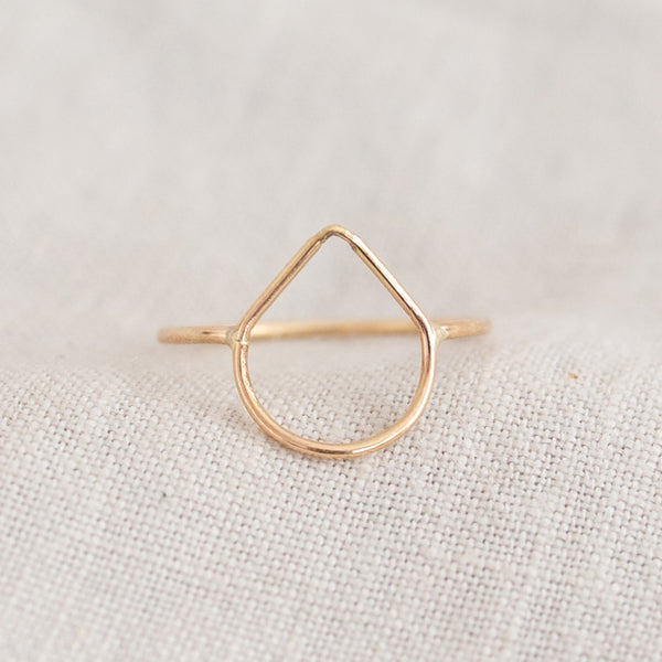 Drop Shape Ring