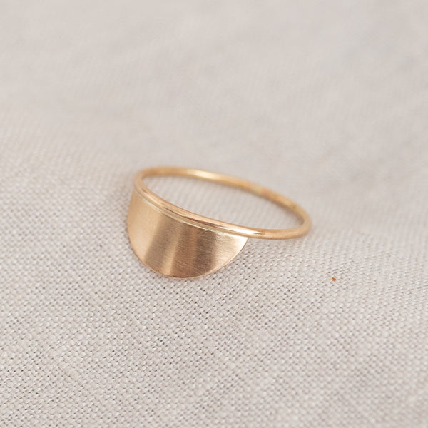 Semicircle Fragment Stacking Ring