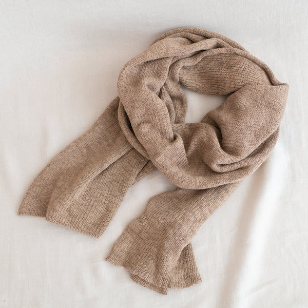 Jersey Tuck Scarf - Toffee