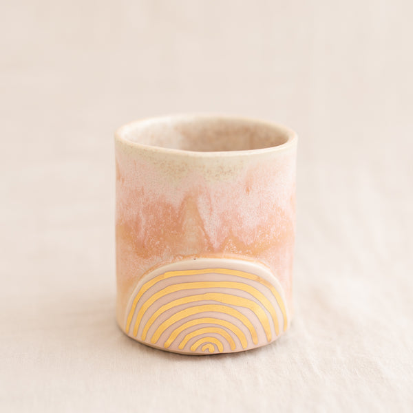 Golden Rainbow Tumbler