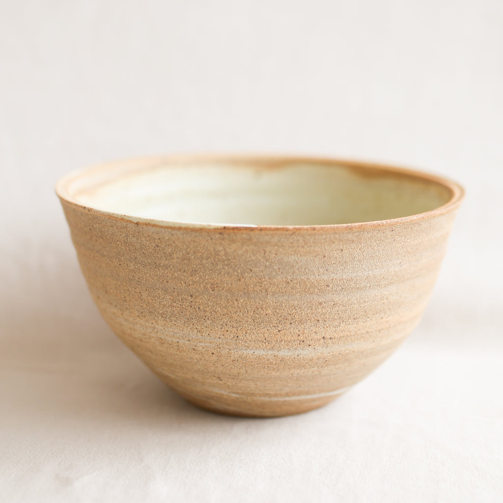 Whiskey + Clay Serving Bowl