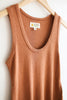 Mollusk Hemp Rib Tank - Redwood