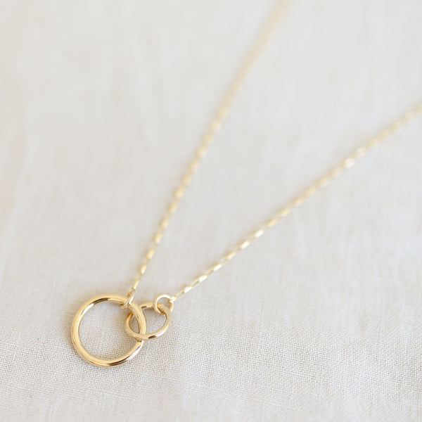 Besties Necklace - Gold