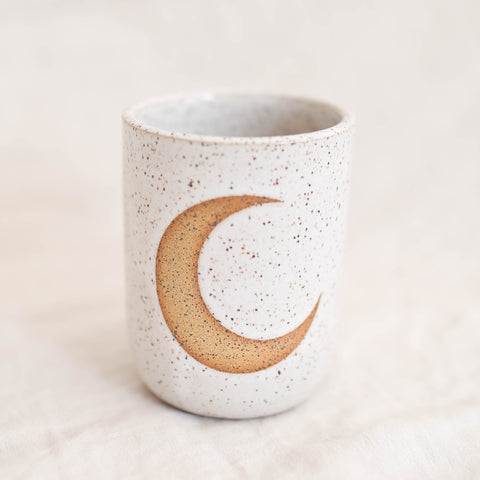 Cactus Mug - Speckled White