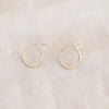 Alice Rise Water Sign Earrings - Large