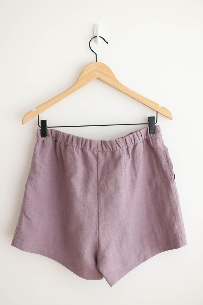 Eve Gravel By the Sea Shorts - Mauve